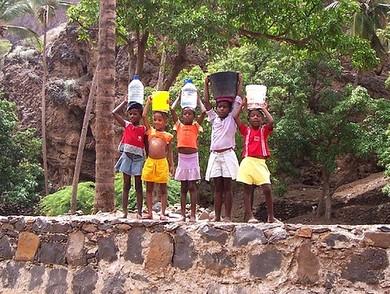 Crianças na Cidade Velha