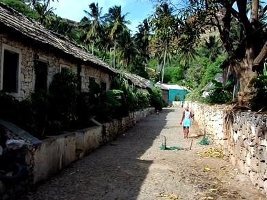 Cidade Velha Património Mundial da UNESCO - Rua de Banana