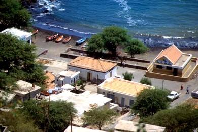 Vista sobre o mar de Cidade Velha